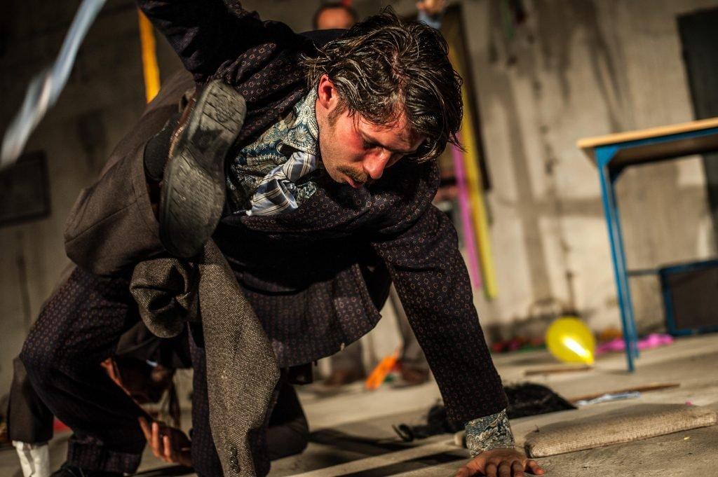 Na lightcie, Teatr Kana i Grupa Korpuskularna LightOff: Grygier/Fibich/Nykowski, fot. Oczajdusza! Michał Wojtarowicz