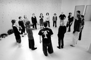 "Praca ""Grupy Próg"" , fot. Paul Silberberg"
